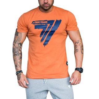 TRECWEAR T-Shirt PLAY HARD 008 Orange Größe M