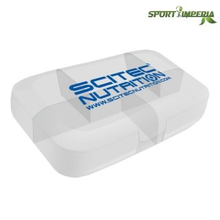 Scitec Nutrition Pillenbox Buchsteiner Transparent