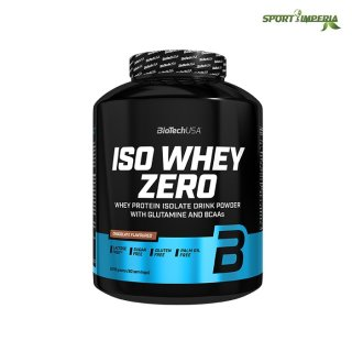 BioTech USA ISO Whey Zero 2270g Dose Berry Brownie