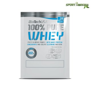 BioTech Usa 100% Pure Whey 28g Sample Einzelportion Bourbonvanille