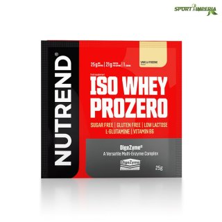 Nutrend ISO Whey Prozero 25 g Portionsbeutel Chocolate Brownies