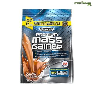MuscleTech Premium Mass Gainer 5440g Beutel 12 lbs Chocolate