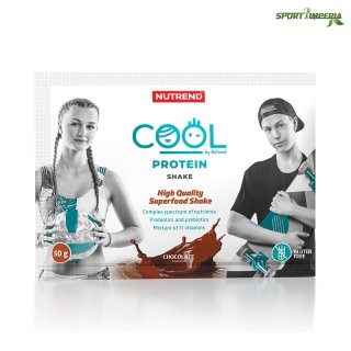 Nutrend COOL Protein Shake 50 g Portionsbeutel Chocolate