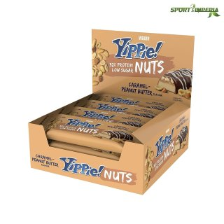 Weider Yippie! Nuts Protein Bar 12 x 45g Display