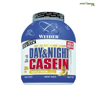 Weider Day and Night Casein 1,8 kg Vanilla Cream