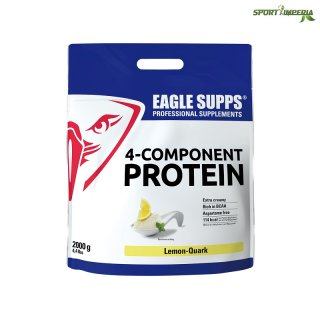 Eagle Supps 4-Component Protein 2000 g Beutel Strawberry Cheesecake