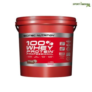 Scitec Nutrition 100% Whey Protein Prof. 5000 g Strawberry