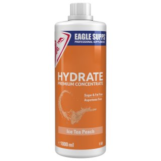 Eagle Supps Hydrate Premium Concentrate 1000 ml Ice Tea Peach