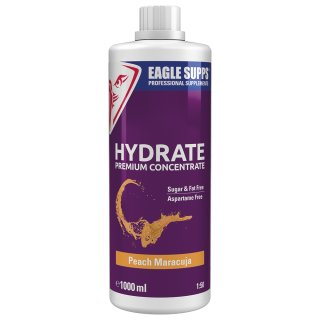 Eagle Supps Hydrate Premium Concentrate 1000 ml Peach Maracuja