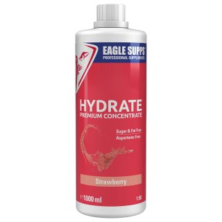 Eagle Supps Hydrate Premium Concentrate 5000 ml Kanister Strawberry