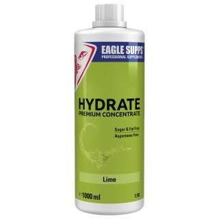 Eagle Supps Hydrate Premium Concentrate 5000 ml Kanister Lime